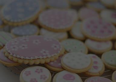 Печенье в глазури в офис